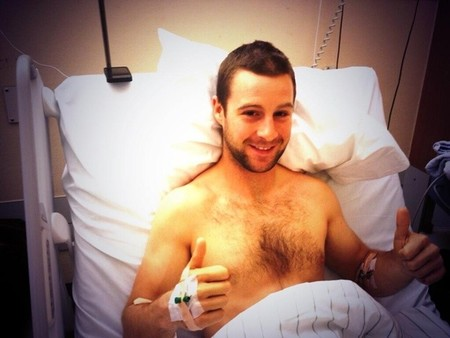 Superbikes Alemania 2013: Jonathan Rea sufre rotura de su fémur izquierdo