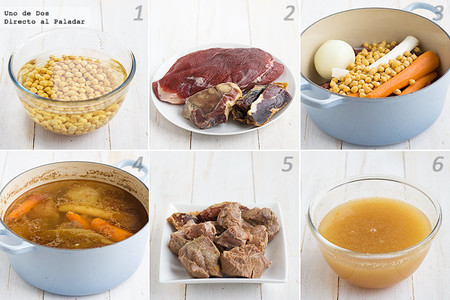 Receta de sopa casera de carne paso a paso