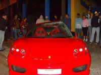 Crash test EuroNCAP casero con Ferrari 360 Challenge Stradale