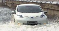 Nissan sugiere que el Leaf está a prueba de tsunamis