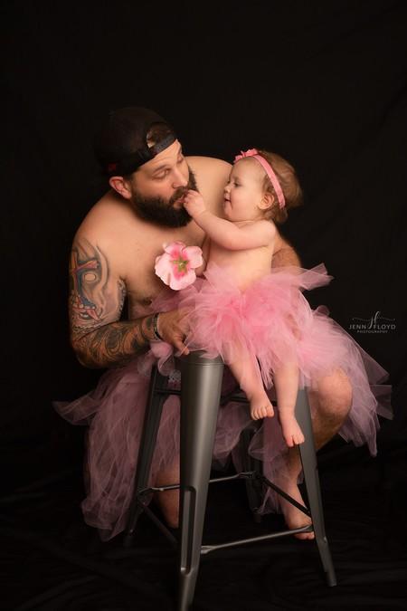fotos tutú padre e hija