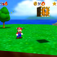 Super Mario 64: cómo conseguir la estrella Shoot to the Island in the Sky de Bob-omb Battlefield