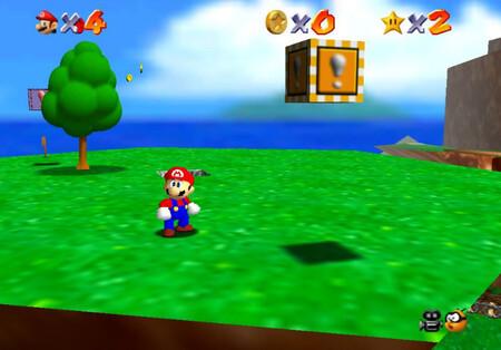Super Mario 64: cómo conseguir la estrella Shoot to the Island in the Sky de Bob-omb Battlefield