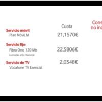 Vodafone estrena vídeo facturas para explicar al detalle conceptos o periodos de facturación