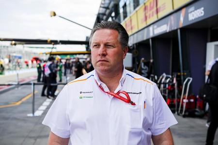 Zak Brown Mclaren F1