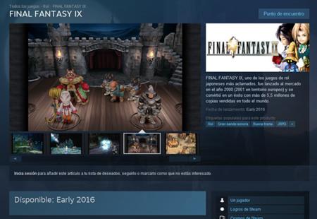Final Fantasy Ix Steam