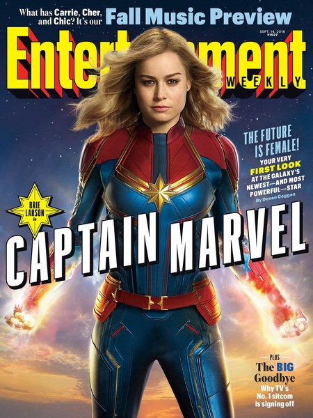 Captain Marvel en EW