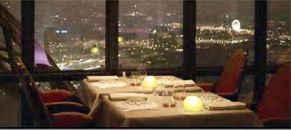 Restaurante Jules Verne de Alain Ducasse en la Torre Eiffel