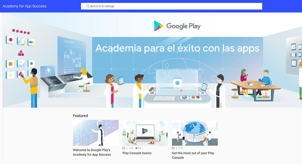 'Academia para el éxito de las apps', formación gratis para productores Android-OS de la don de Google®