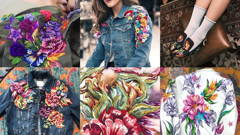 Diseño de moda: pintura y bordado sobre prendas Un curso de Ana María Restrepo, diseñadora y artista textil