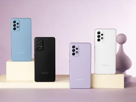 """Galaxy A52 5G y Galaxy A72: la nueva gama media-alta de Samsung tiene diseño """"a la Galaxy S21"""", hasta 120 Hz y resistencia al agua"""