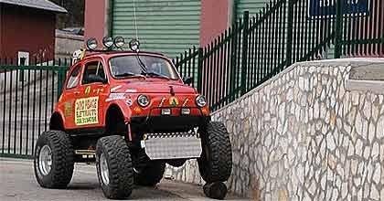 Fiat 500 Bigfoot