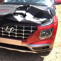 ¡Espiado! El Hyundai Venue va tomando forma para dejar a Creta en el pasado