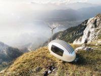 Ecocapsule, una casa huevo perfecta para plantarla en cualquier lugar
