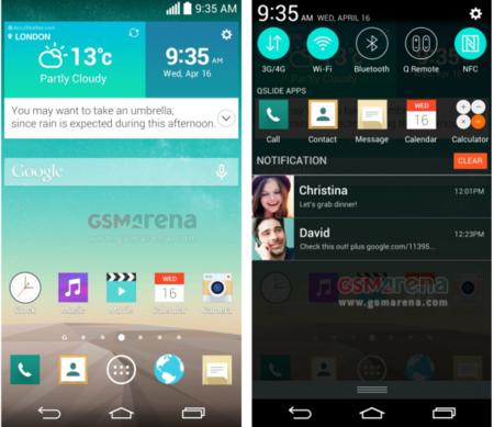 Optimus UI, la nueva interfaz de LG se deja ver