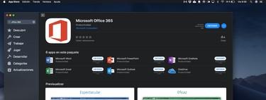 Se acaba la espera: Office 365 ya está disponible para la descarga en los ordenadores Apple desde la Mac App Store