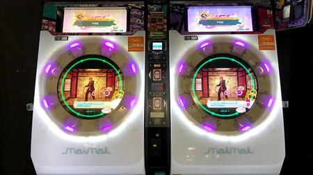 Akihabara arcade Maimai Sega