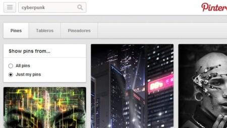 Pinterest añade un filtro para buscar entre nuestras imágenes