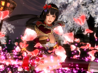 Naotora Ii ya está disponible en DOA5: Last Round y viene con montones de trajes de Samurai Warriors