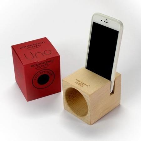 Altavoz ecológico para móvil