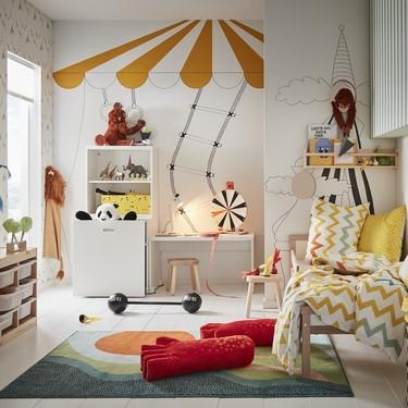 Dormitorios infantil: Ikea nos  aconseja cómo darles un aire nuevo con poca inversión y mucha imaginación
