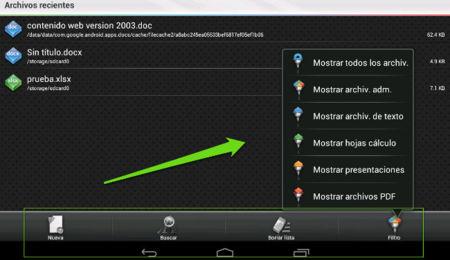 Cuatro aplicaciones más para manejar documentos ofimáticos desde los móviles y tablets