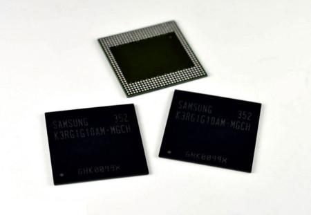 Samsung LPDDR4 memory