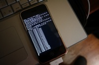 Imagen de la semana: ZiPhone en acción