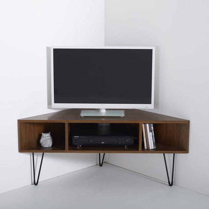 Mueble de televisión esquinero
