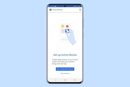 Cómo crear accesos directos a funciones de Google Assistant con Action Blocks