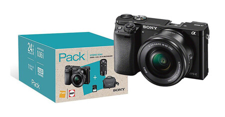 Sony A6000 Packb