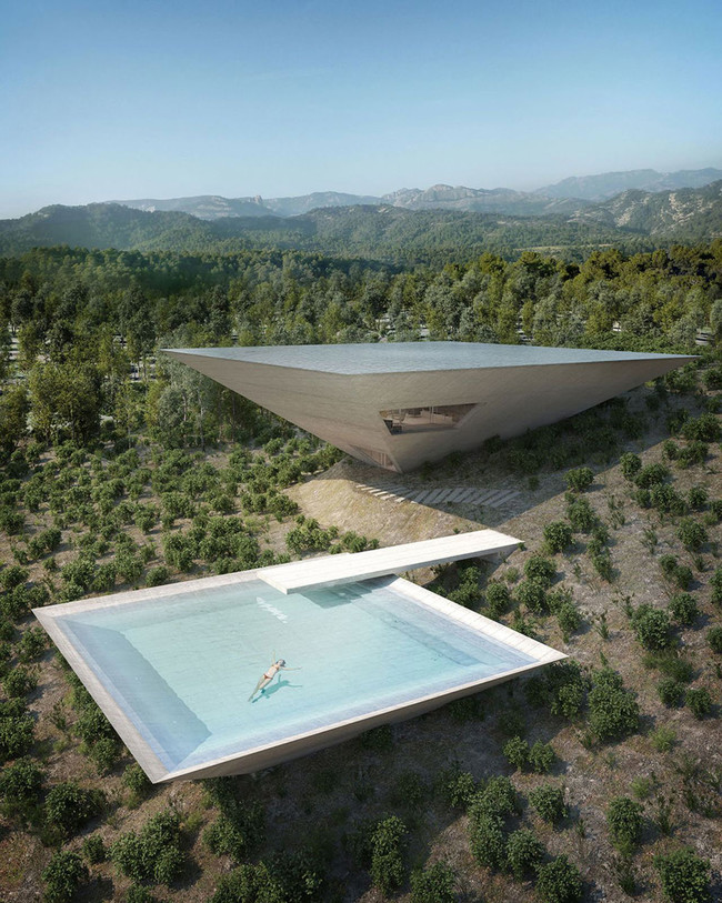 Futuristic Concept House For Ones Who Saw Everything