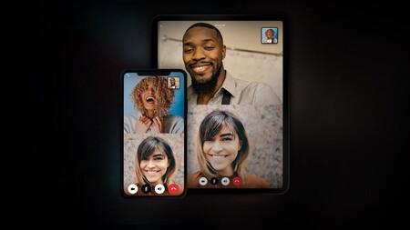 Interfaz de las videollamadas en VERO.