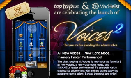Voices 2 y el regreso de Camera+ a la App Store