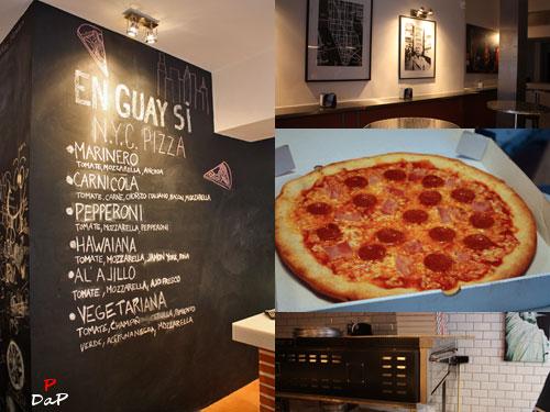 Pizza estilo new york en guay si nyc for Decoracion pizzeria