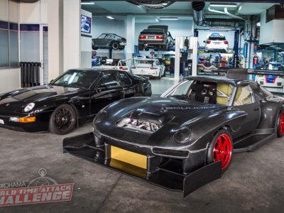 Aunque no te lo creas, en algún momento esta bestia descomunal fue un Porsche 968
