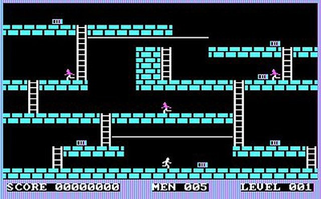 Lode Runner (Broderbund Software, 1983)