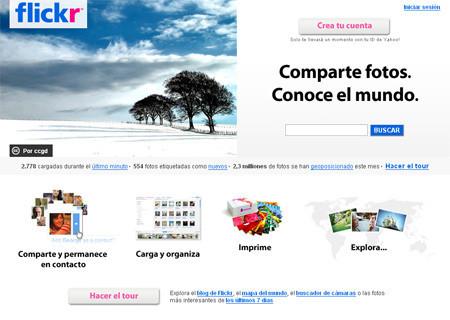 Flickr añadirá edición de fotos online
