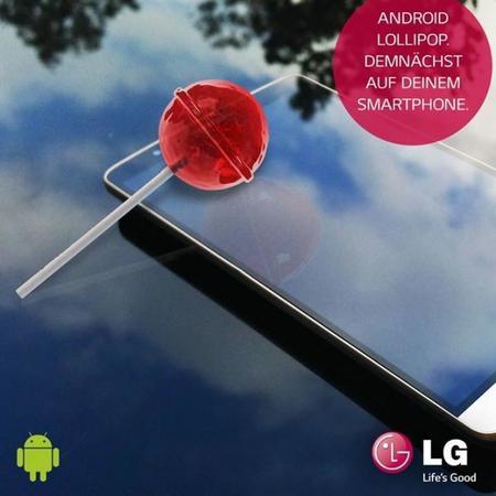 LG G3 recibirá Android 5.0 Lollipop para fin de año