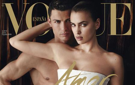 Ronaldo 1 - 3 Beckham. Los futbolistas que se han hecho un Vogue con sus parejas