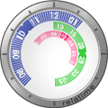 Relatime, relojes en flash para tu web o desktop