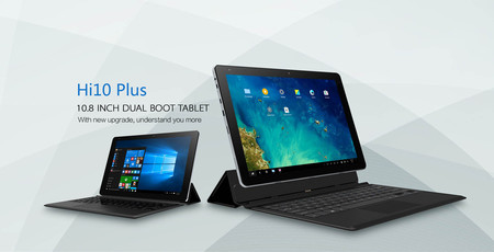 Código de descuento: tablet Chuwi Hi10 Plus, con 4GB de RAM y Windows 10, por 133,49 euros