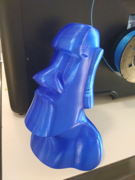 modelo impreso con la da Vinci Super