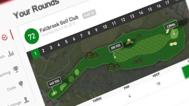myRoundPro, una aplicación para evaluar tu juego de golf con la Microsoft Band