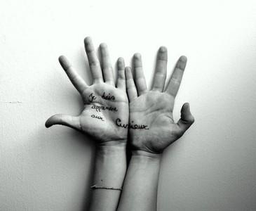La fotografía de manos en los retratos