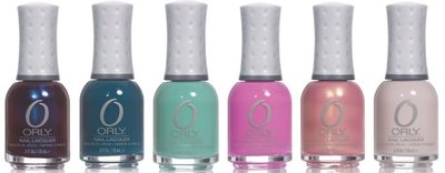 Precious collection de Orly: 6 colores básicos