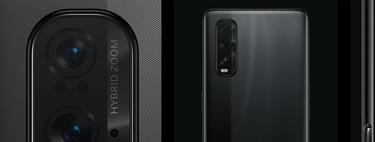 Las cámaras de los OPPO Find X2 y X2 Pro, explicadas: zoom óptico 5x, RAW de 12 bits y modo noche mejorado para plantar batalla