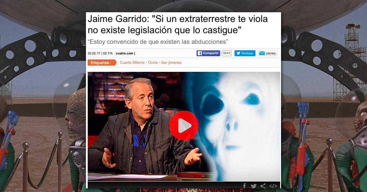Un abogado nos explica qu puedes hacer legalmente si te for Jaime garrido cuarto milenio