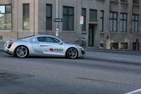 El tour canadiense del Audi R8