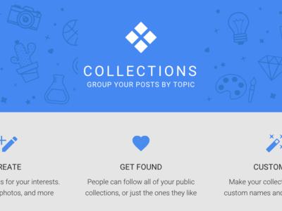 """Las nuevas """"Collections"""" de Google, ya disponibles"""